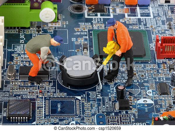 Computer Crash - csp1520659