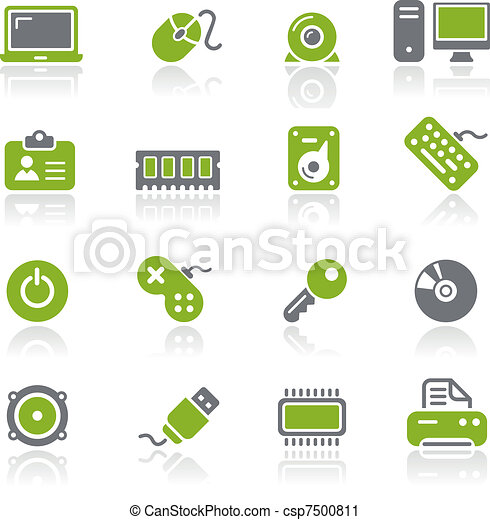 Computer & Devices Icons / Natura - csp7500811