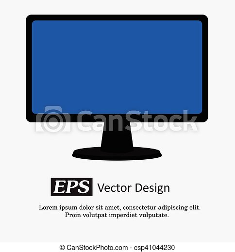 Computer Display Vector - csp41044230