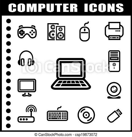 Computer icons - csp19873072