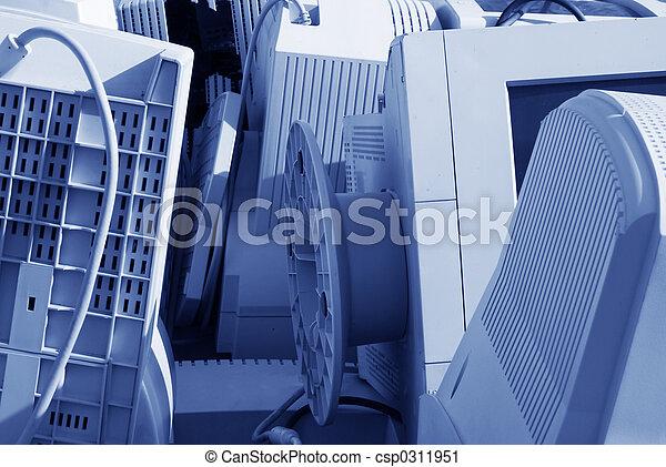 Computer junk - csp0311951