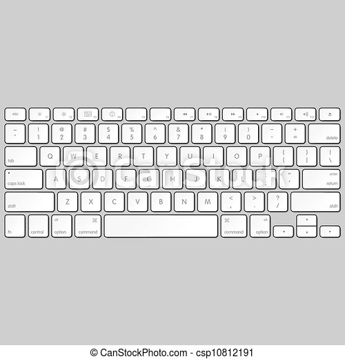 Computer keyboard - csp10812191