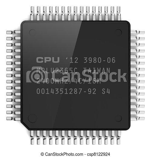 Computer microchip - csp8122924