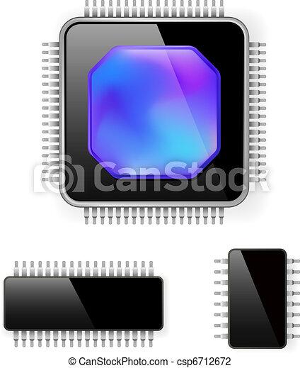 Computer microcircuit - csp6712672