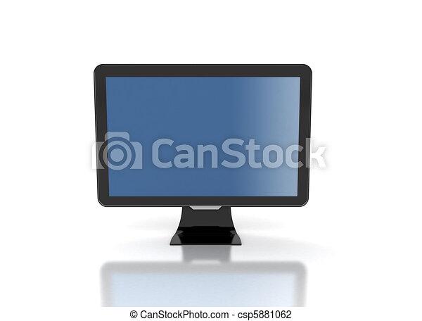 computer monitor lcd monitor black frame clip art search