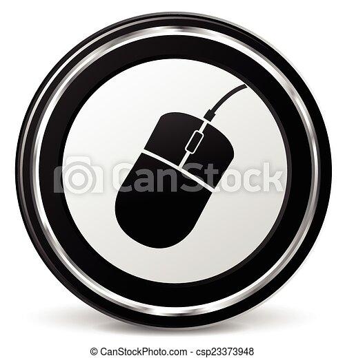 computer mouse icon - csp23373948