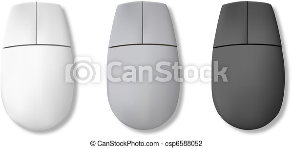 Line Drawing Mouse : Computer mouse. vector illustration search clipart