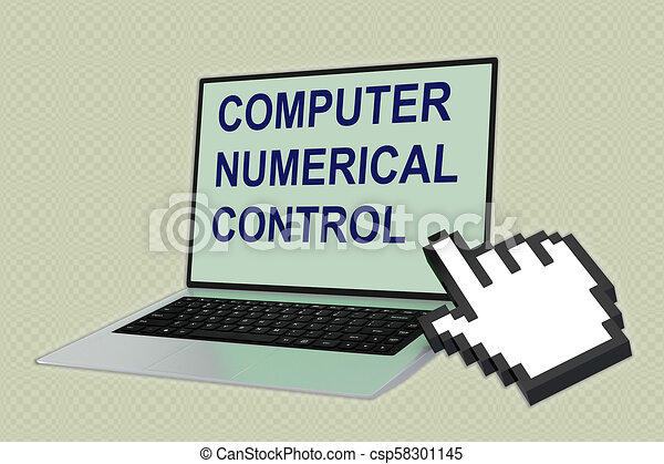 COMPUTER NUMERICAL CONTROL (CNC) concept
