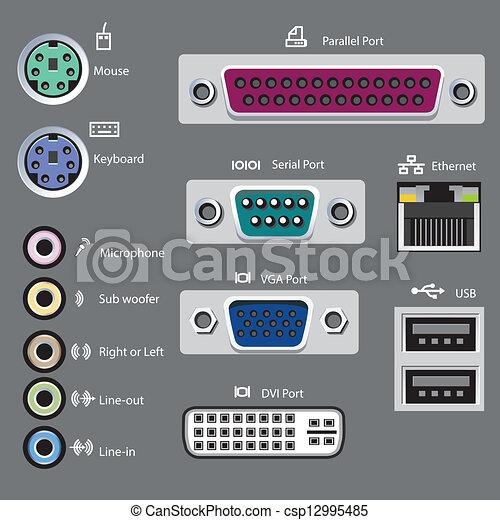 computer port type - csp12995485