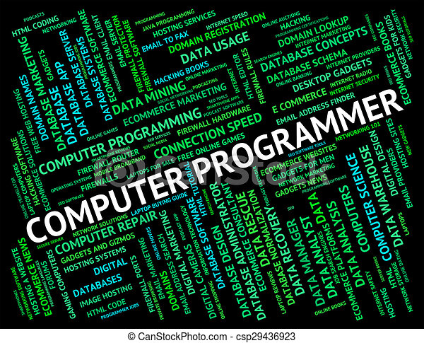 Computer Programmer Represents Software Engineer And