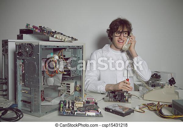 Computer Repair - csp15431218