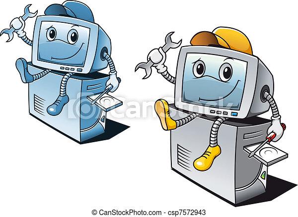 Computer repair service - csp7572943
