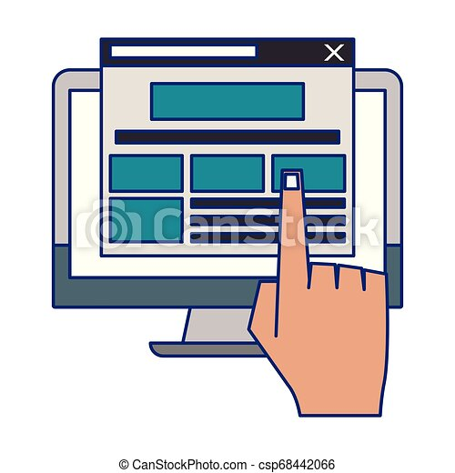 Browsing the internet clipart - ClipartBarn