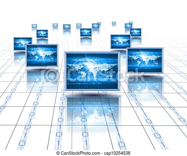 Computer screens - csp10254538