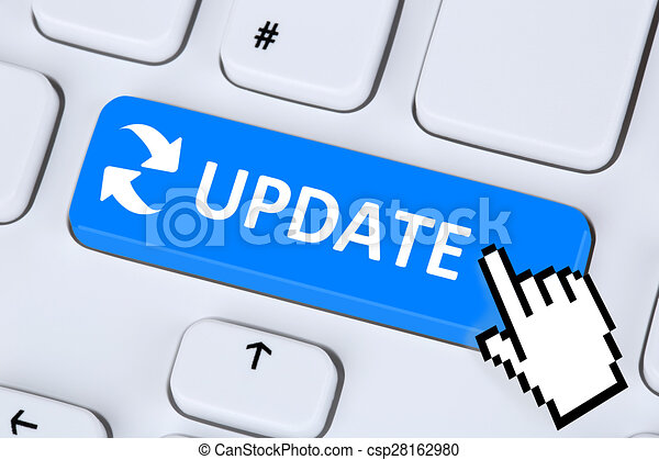 computer software update network security virus on the stock rh canstockphoto com