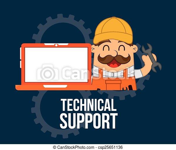 computer support  - csp25651136