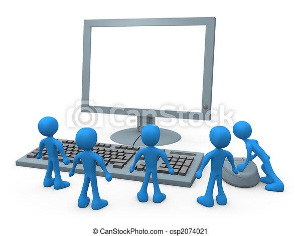 computer, tipi - csp2074021