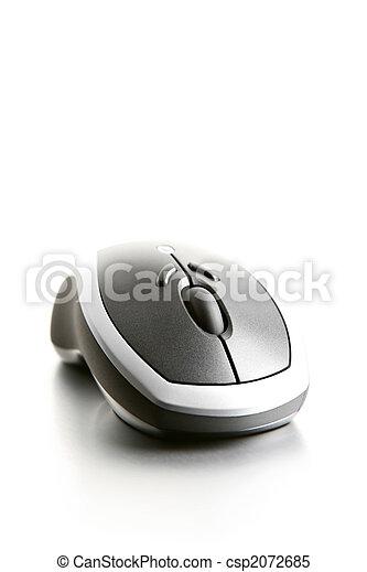 computermaus, highkey - csp2072685
