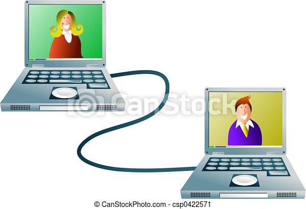 computernetzwerk - csp0422571