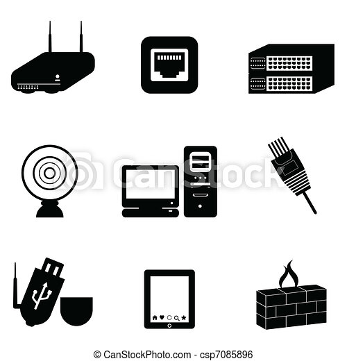 Computer und Netzwerkgeräte - csp7085896