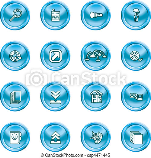 Computing and Website Icons  - csp4471445