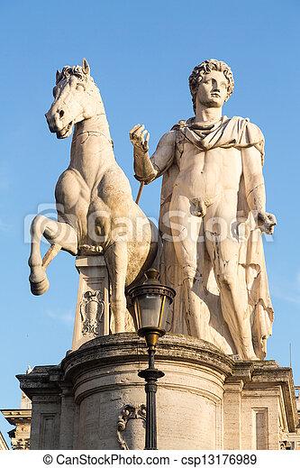 Comune di Roma town hall - csp13176989
