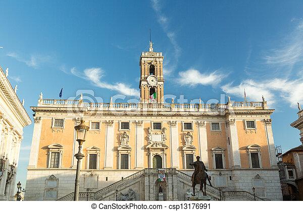 Comune di Roma town hall - csp13176991
