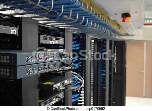 comunicação, prateleiras - csp0170592