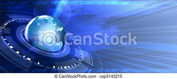 comunicações, global - csp3143215