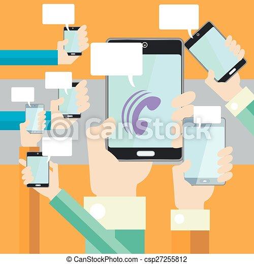 comunicación - csp27255812