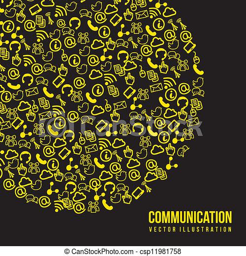 comunicación - csp11981758