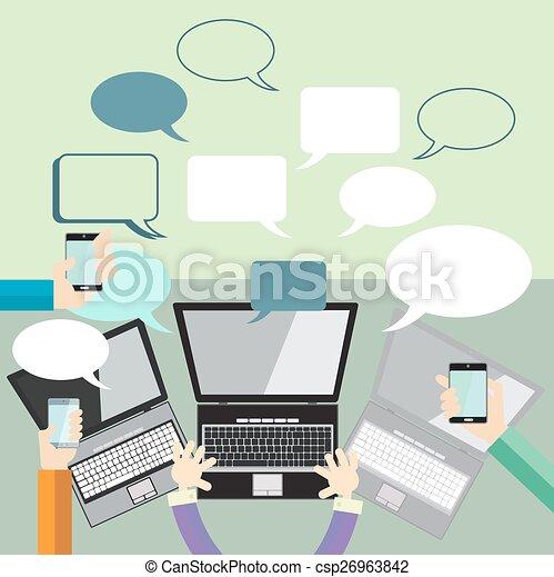 comunicación - csp26963842