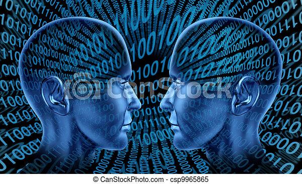 Comunicación por Internet - csp9965865
