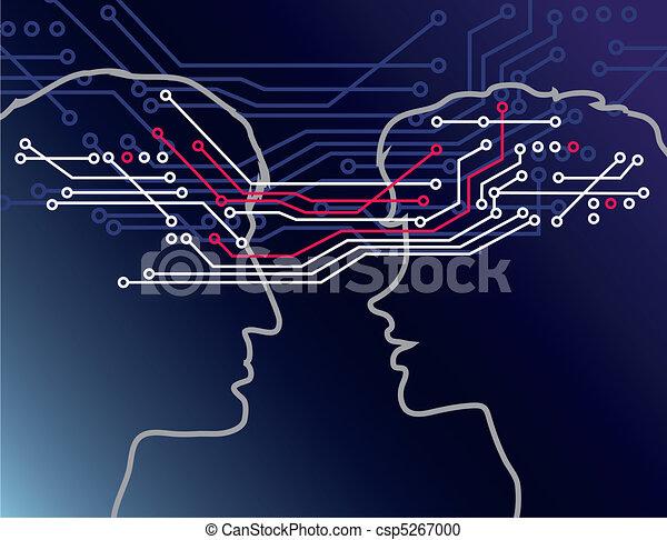 comunicar, pessoas - csp5267000