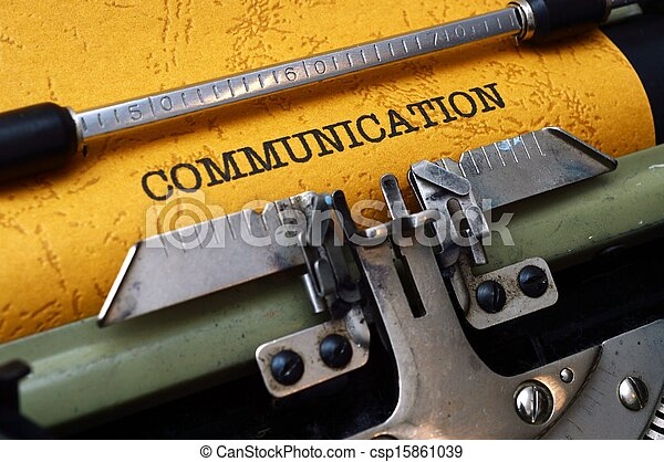 comunicazione - csp15861039