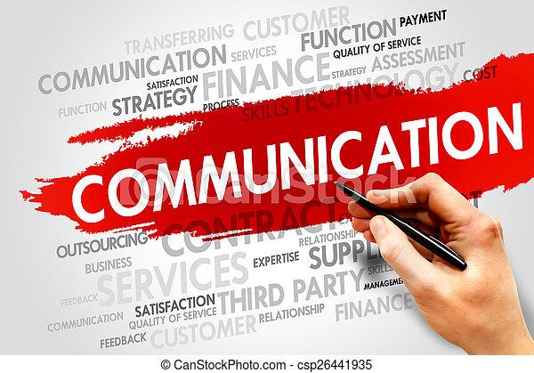 comunicazione - csp26441935