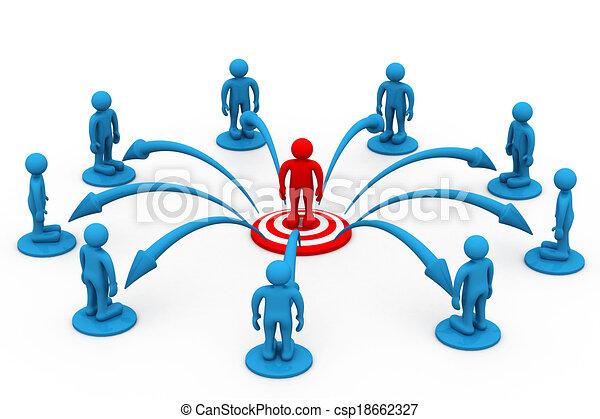 comunicazione, concetto, affari - csp18662327