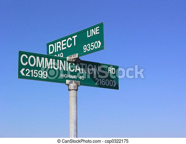 comunicazione, diretto - csp0322175