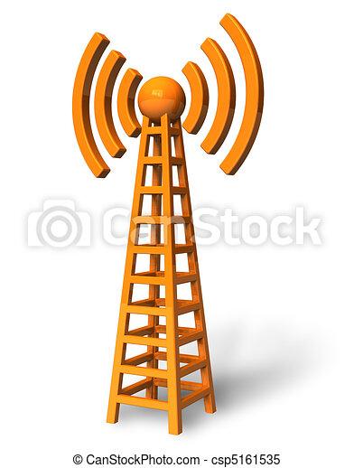 comunicazione fili, torre - csp5161535