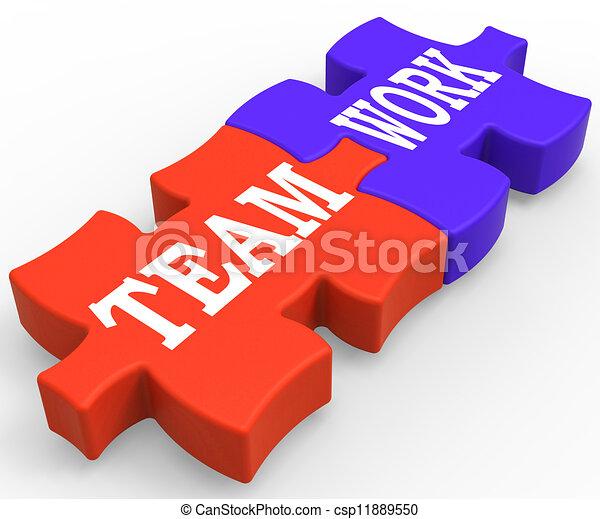 comunità, lavoro squadra, lavorare insieme, mostra - csp11889550