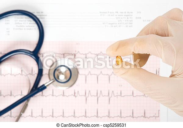 conceito médico - csp5259531