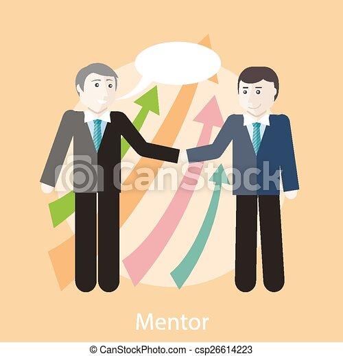 conceito, mentor - csp26614223