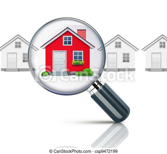conceito, real-estate - csp9472199