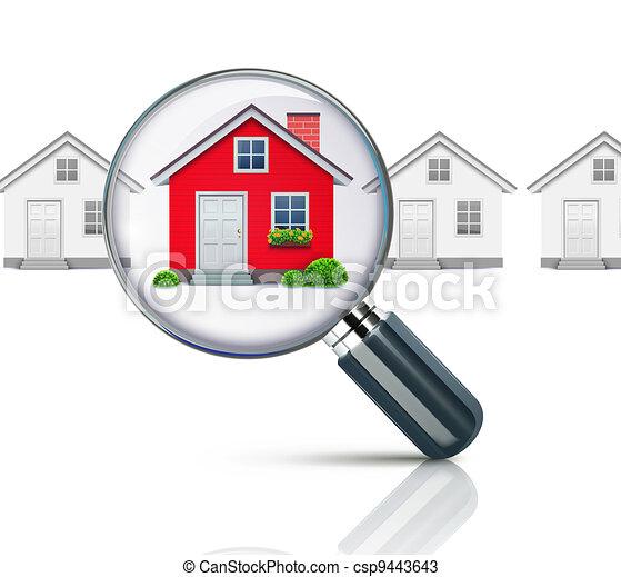 conceito, real-estate - csp9443643