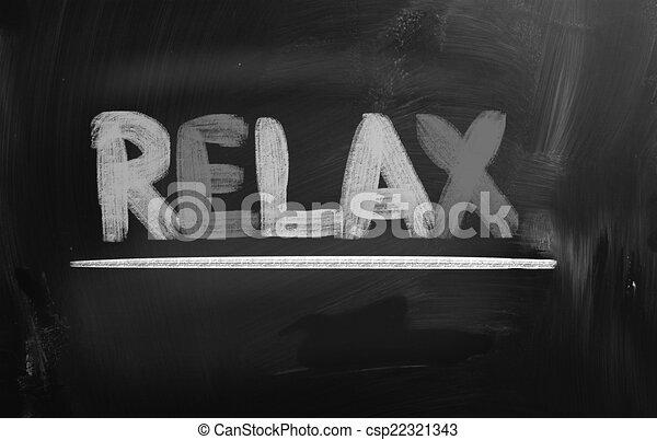 conceito, relaxe - csp22321343