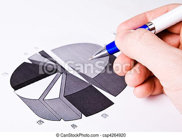 conceito, sucesso financeiro, negócio, -, relatório - csp4264920