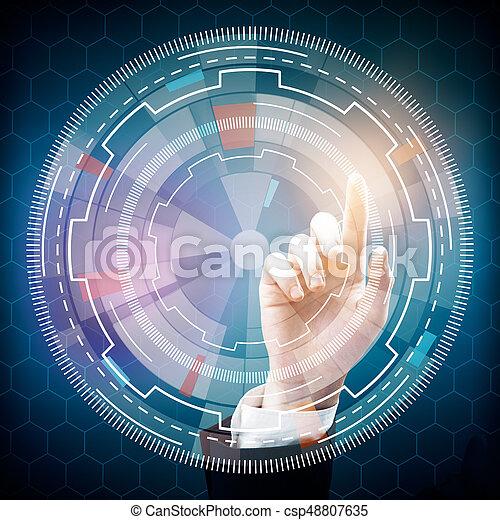 conceito, tecnologia, inovação - csp48807635