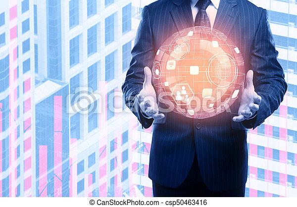 conceito, tecnologia, inovação - csp50463416