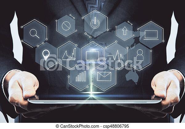 conceito, tecnologia, inovação - csp48806795