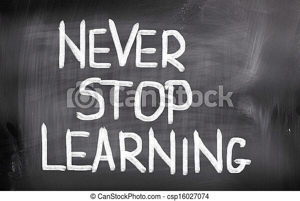 conceito, tempo, aprender - csp16027074